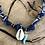Thumbnail: Collier bleu piment