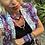 Thumbnail: Collier tarot tie and dye rosé