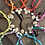 Thumbnail: Collier rose coquillages croix