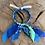 Thumbnail: Joncs outremer / bleu / bleu vert
