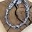 Thumbnail: Bracelet double tour gris homme anneau