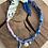 Thumbnail: Collier anis/rose/bleu piment œil aqua