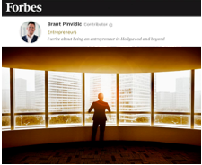 Forbes Compelled Entrepreneur