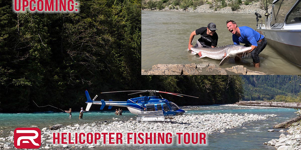 Helicopter Fishing Tour