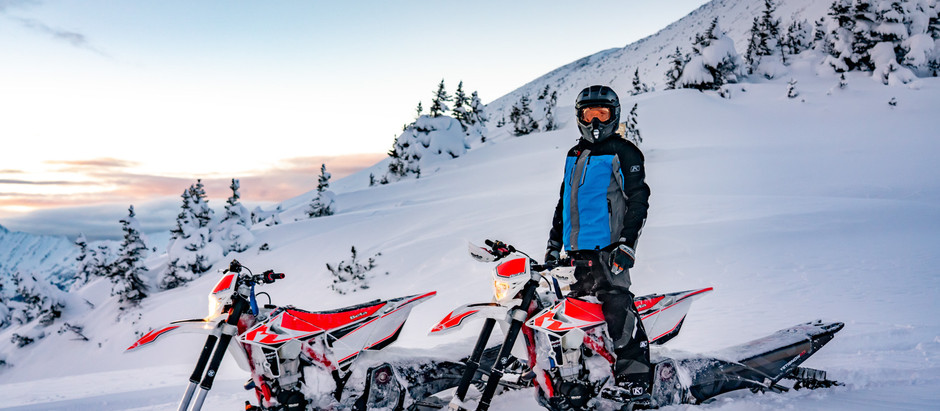 Snowbiking The Whistler Glaciers