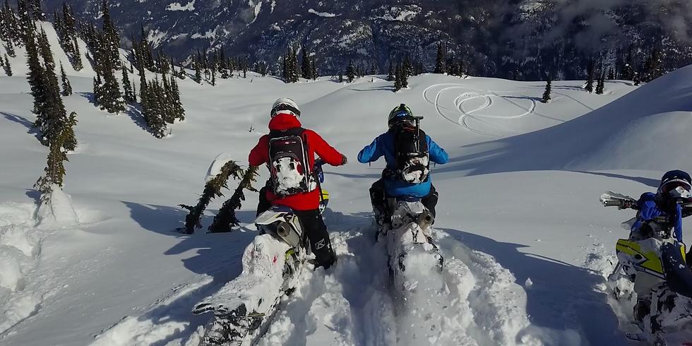 Snowmobile Revelstoke BC with Rob Alford & Lorne Alcock