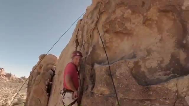 Climbing Joshua Tree