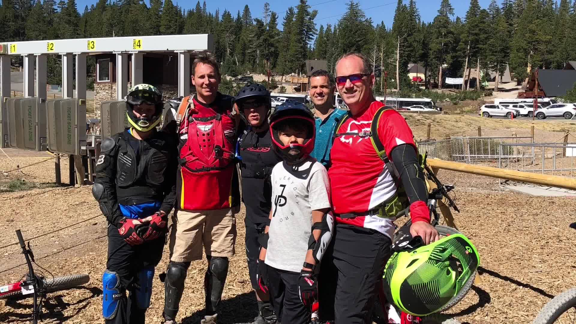 Downhill Mountain Biking Mammoth Mountain