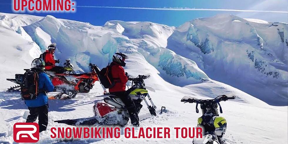 Snowbiking The Whistler Glacier