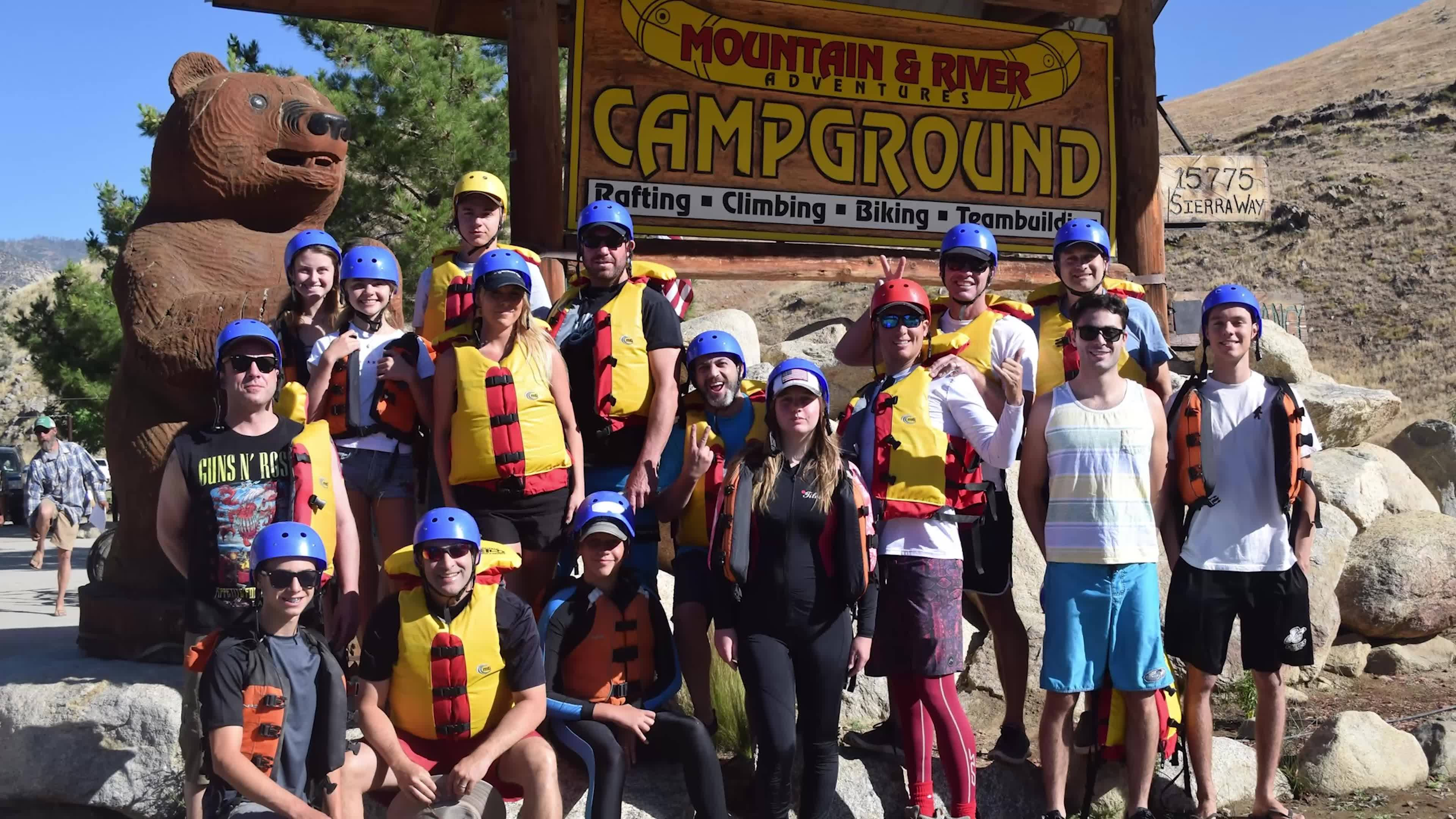 Whitewater Rafting down Kern River