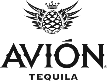Avion Full Logo Black Hi Res PNG with Tr