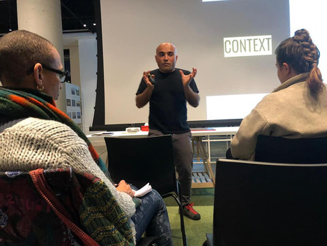 Context_lecture-onthe constant negotiation of urban space between immobility and change