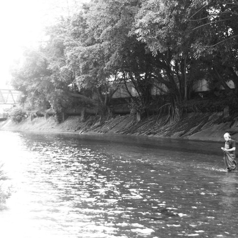 Kaitak River, underdwater field recording