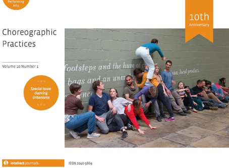 EM Tools article published on 'Choreographic Practices ' journal