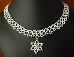 Necklace with a Pendant.JPG