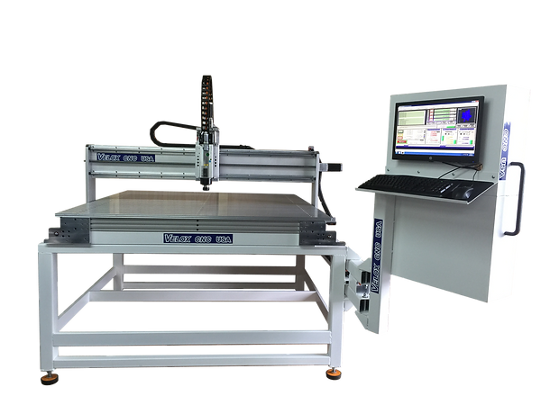 4x4 cnc router hsd spindle