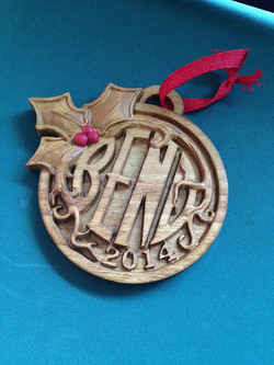 Brian Pape  Bend Ornament