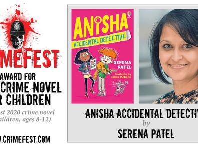 Anisha Smashes it at Crimefest!