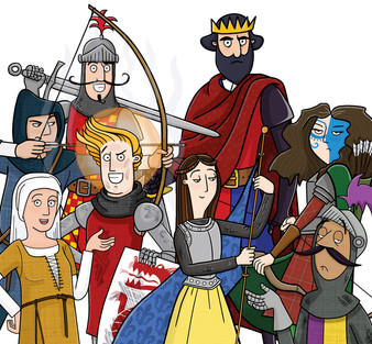 Hysterical Histories: Knights and Castles