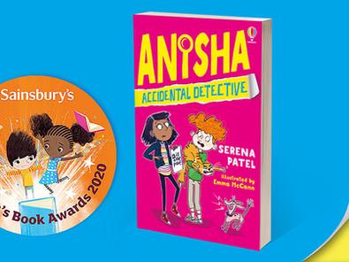 Another Anisha Award Nomination!