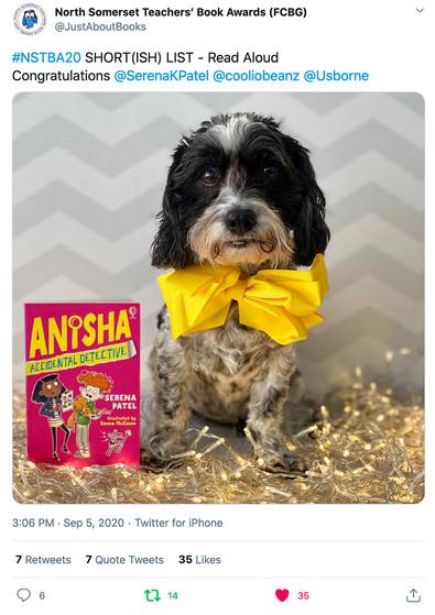 Anisha award nomination!