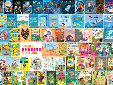 Summer Reading Challenge starts today!