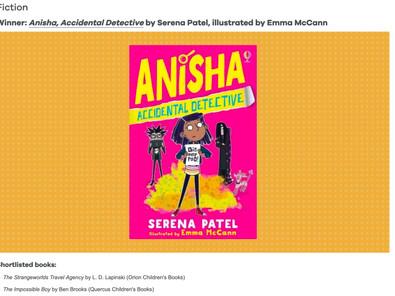 Victory for Anisha!