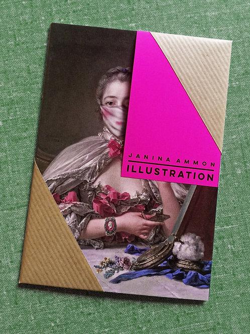 Postkartenset I Kunst trägt Mundschutz I Ladies