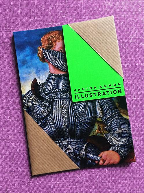 Postkartenset I Kunst trägt Mundschutz I Gentlemen