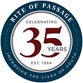 RiteOfPassage_35_Year_Logo_Transparent_B