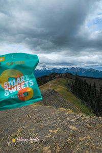 Smart snacks are great to take on a hiking trip. Feeds that sweet tooth.