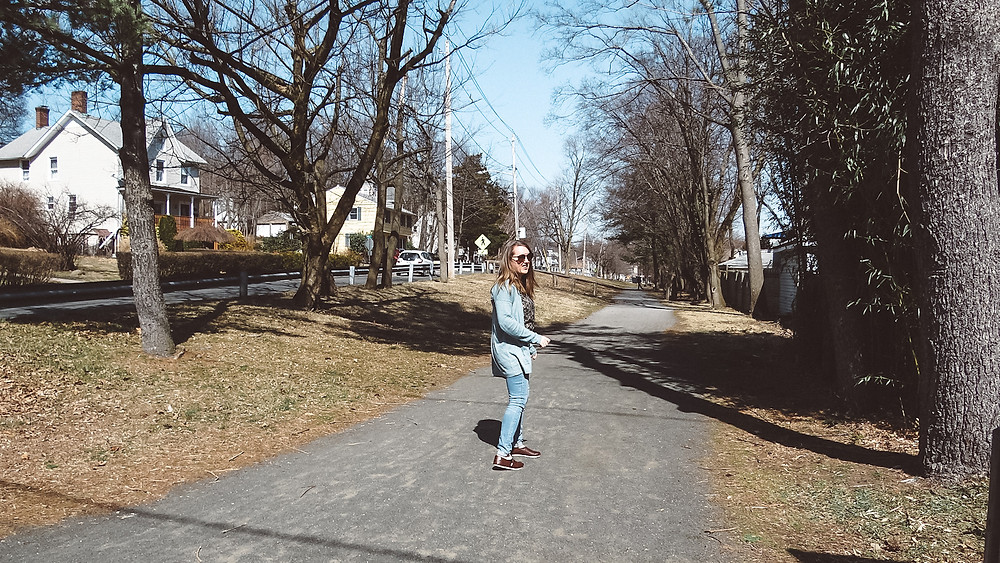 Nyack is so pedestrian and cyclist friendly that it is easy to walk throughout the town. Take this walking path that is just for those wanting to get to different town and be active.