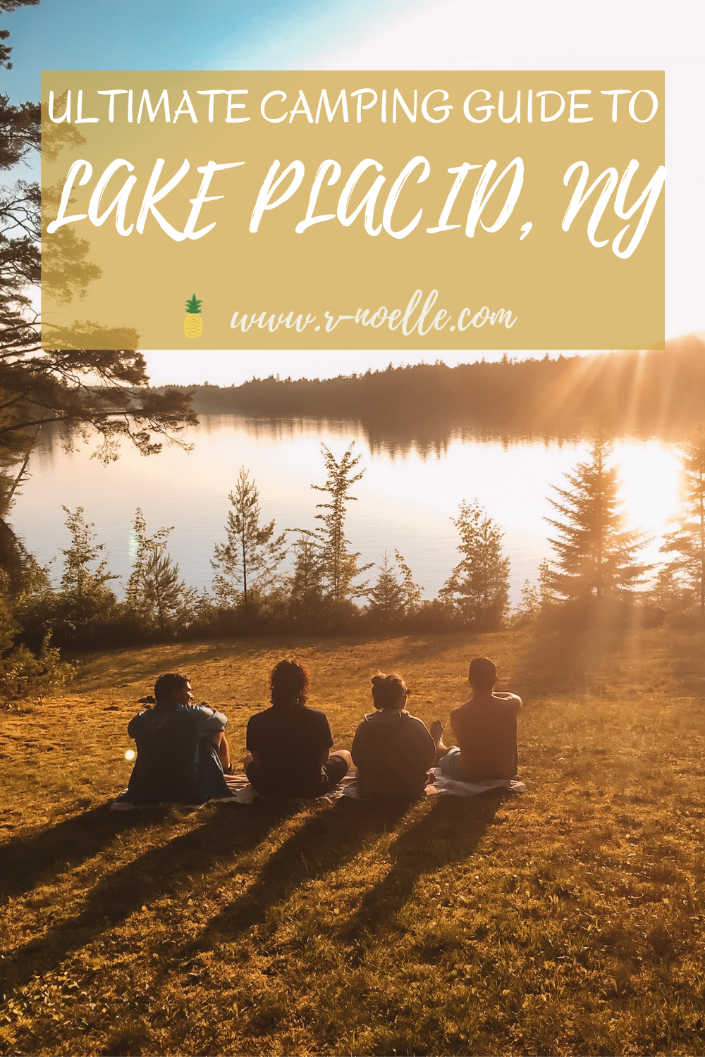 Lake Placid, New York is known for hosting the 1984 Olympics. Many people still flock there year round for hiking, kayaking, swimming, and explore the high peak mountain ranges. #hiking #hikinghighpeaks #thingstodoinlakeplacid #campinginadirondacks | Things to do in Lake Placid | Camping in Adirondacks
