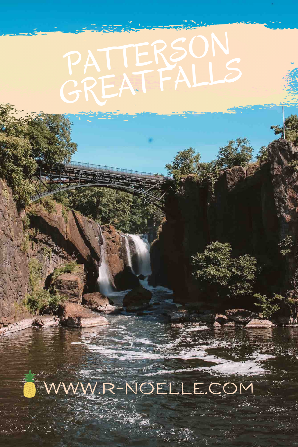 Ney Jersey has so many hidden gems. Great Falls in Patterson is part of the National Parks System and is a must visit if you're in the area! This is near the historic distric of Patterson that was once the center of the silk city.