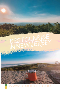 The best sunrise in New Jersey! If you want to do on a moderate hike, this would be the best way to experience your first sunrise hike!