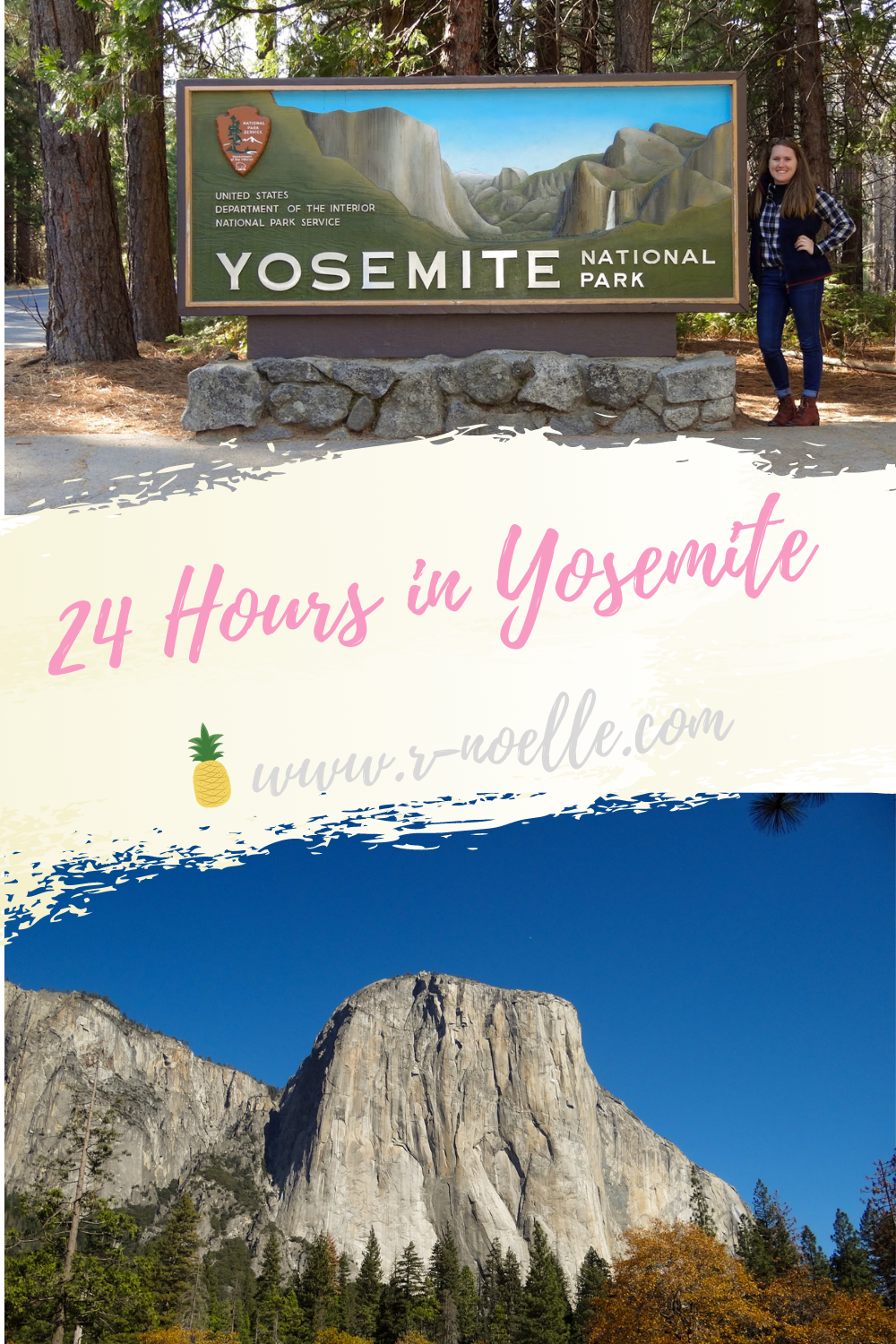 Spend the day in Yosemite National Park. Whether you're on a road trip or not the camping type, here are the highlighted views you must see. Save these spots and do this loop to make the most of your day at Yosemite.