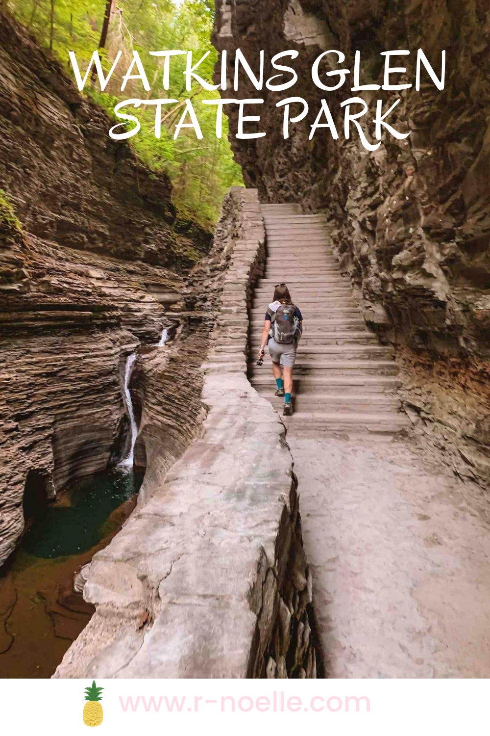 Plan a camping weekend to Watkins Glen State Park.There are so many things to do in Watkins Glen. Hike through the gorge, camp nearby, and love the waterfalls in the gorge trail. Finger Lakes is known for their gorges and have amazing campground for all to enjoy!