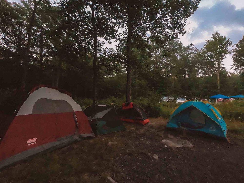 Camping in Northern New Jersey can be super warm. High Point State Park is stunning. There is a lake that makes the breeze come, but even better - it won't break the bank! If you have the gear come for the kayaking, swimming, and hiking to get a weekend escape. Camping in New Jersey is doable!