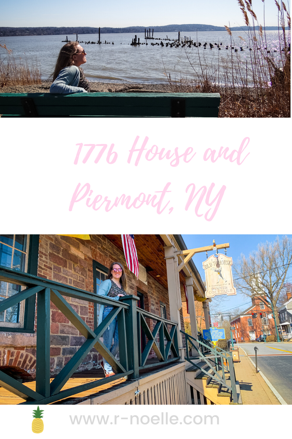Piermont and Tappan New York are rich with history. Save this pin for your next travel adventure or exploring local history.