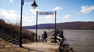 Come to Fleischmann Pier for their fishing, crabbing, or the best views of the Hudson.