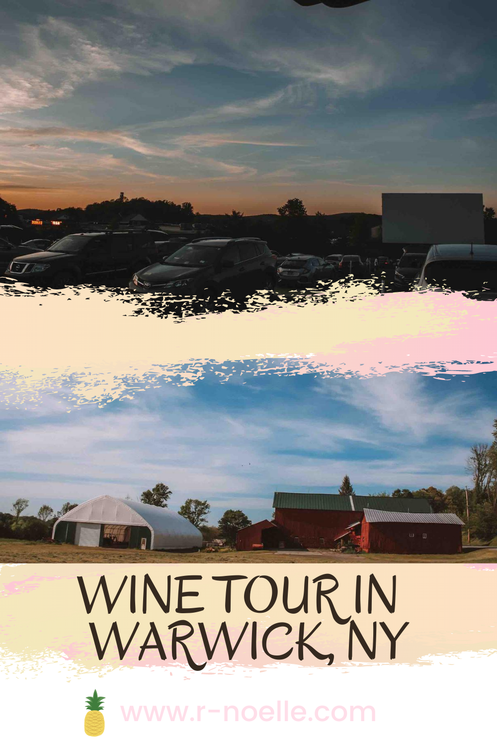 Explore Warwick, New York by going on the amazing Wine Tour. This is part of the Shawnagunk Wine Trail. If you're looking for things to do in Warwick, NY this will have your weekend plans covered. You won't regret the beautiful wineries or finishing at the local drive-in!