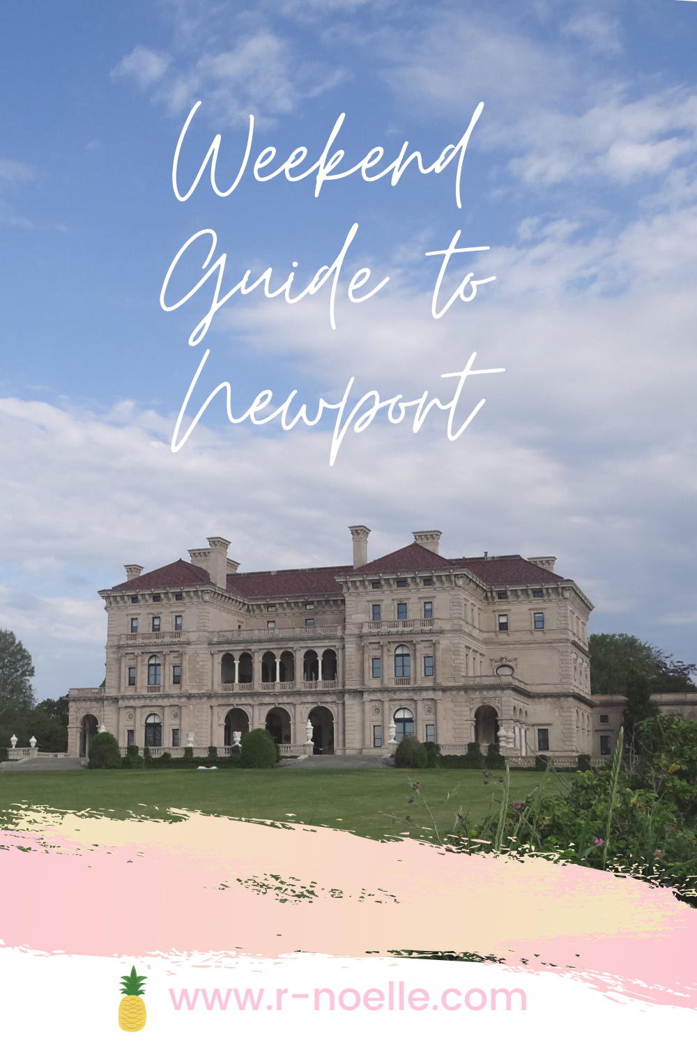 Newport is a beautiful town that is rich in history. If you're looking for a relaxing weekend getaway with girlfriends, this guide should help you plan your trip! Newport, Rhodes Island is wonderful! Newport mansions are getting to witness but the town is rich with history.