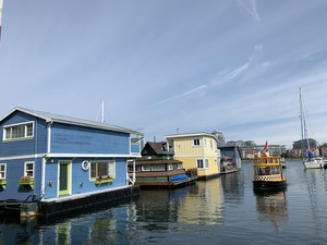 Take a water taxi around Victoria British Columbia to explore the Garden City and Inner Harbor.