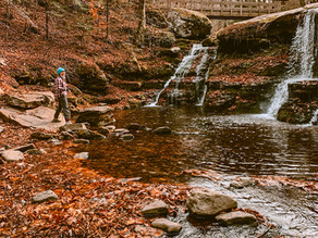 Hike in the Catskills to Diamond Notch Falls