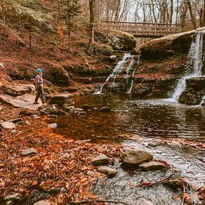 Hike in the Catskills to Diamond Notch Falls