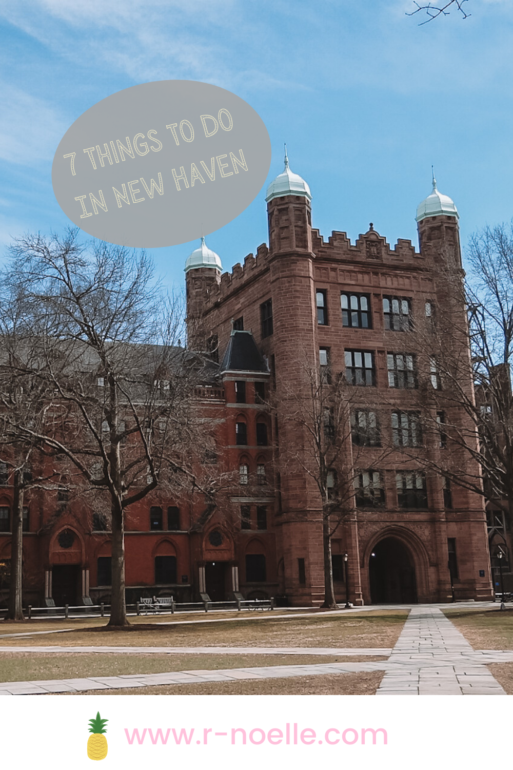 Seven things to do in New Haven Connecticut! Here are things to do in New Haven. Explore New Haven Connecticut for the day!