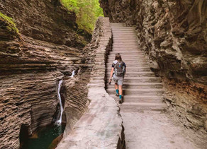 Dreamy Exploration of the Gorges in Watkins Glen