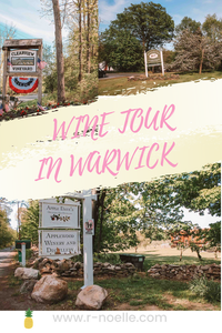 Visit Warwick and take a tour through their wonderful wineries. This cute town over the board from New Jersey and in the Hudson Valley will give you endless stunning views you'll feel like you escaped to another world!