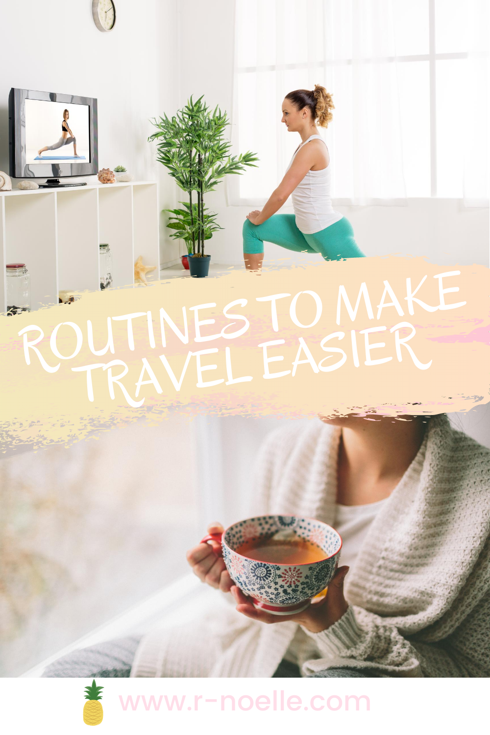 Many people struggle to find restful sleep when traveling. If you want to ease the restful nights in a new place. If you get a routine down in your daily life, it helps whether you're travel frequently or once in a blue moon.