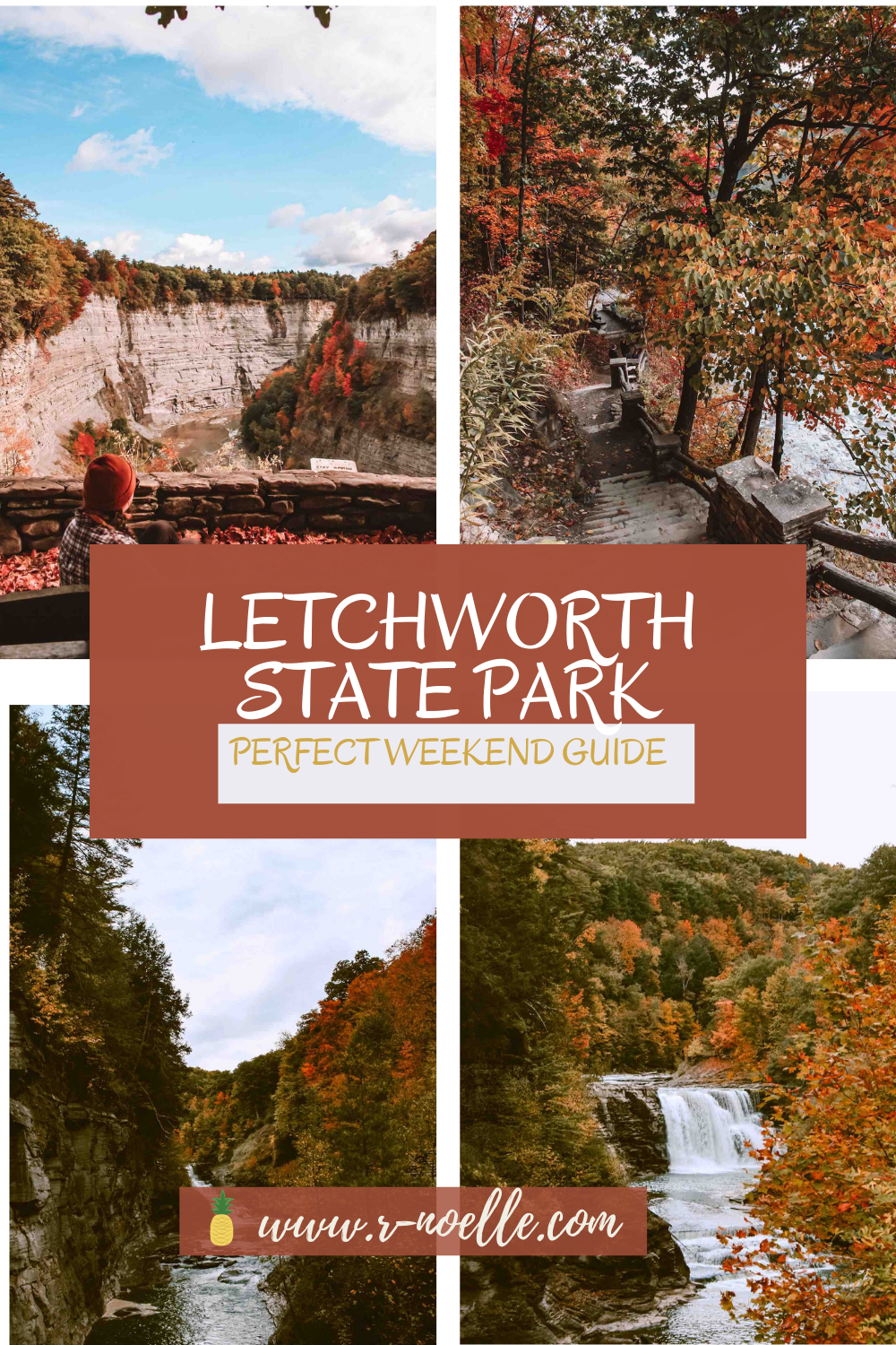 Letchworth State Park is a state park in New York. It is an awe inspiring park! #campingatletchworth #letchworthstateparkcamping #letchworthstateparkfall #grandcanyoneoftheeast | Camping At Letwchworth | Hiking the Gorge Trail in Letchworth | Gorges of New York